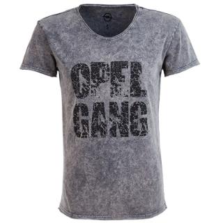 """Image sur T-shirt Homme """"Opel Gang"""", gris foncé"""