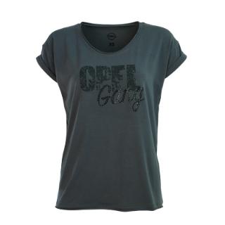 """Afbeelding van Damesshirt """"Opel Gang"""", donkergrijs"""