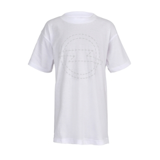 Picture of Stitched lightning kids' t-shirt, white