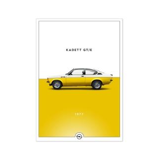 Immagine di Poster storico, Kadett GT/E