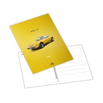 Afbeeldingen van Ansichtkaart, Opel GT
