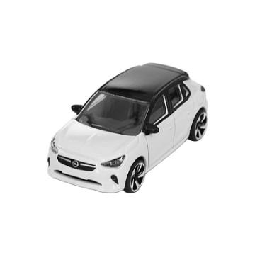 Immagine di Macchinetta giocattolo Corsa bianca/nera