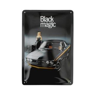 Picture of Metal sign, Manta A Black Magic