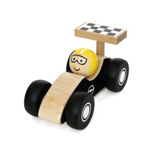 Immagine di Macchinetta da corsa in legno